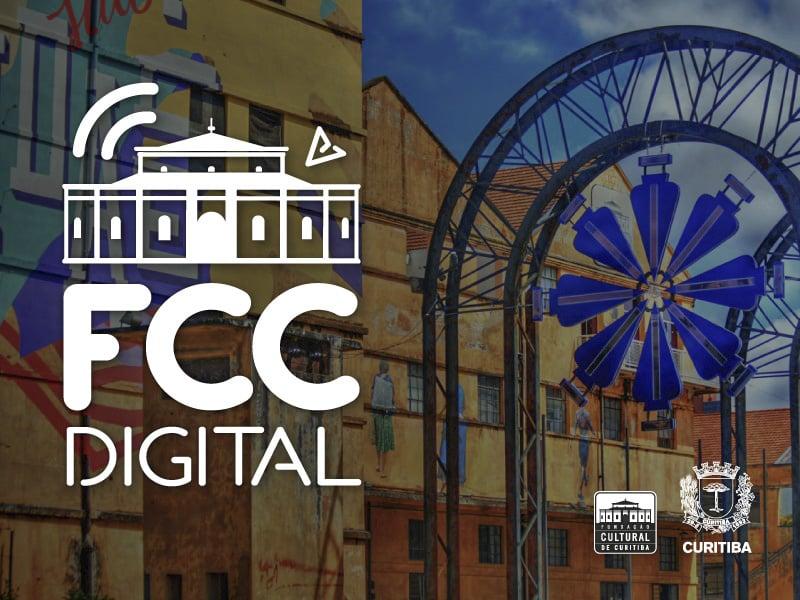 foto mostra uma montagem sobre a FCC Digital